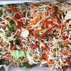 Vietnamese salad platter thumbnail