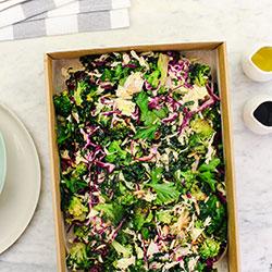 Charred broccoli salad thumbnail