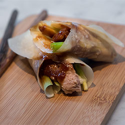 Peking duck pancake thumbnail