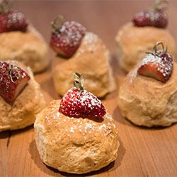 Freshly baked scones  thumbnail