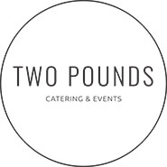 Two Pounds Catering  logo