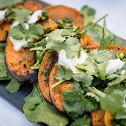 Moroccan roasted pumpkin salad thumbnail