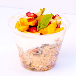 Apple bircher muesli cup - 250ml thumbnail