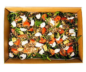 Lentil and goats cheese salad thumbnail
