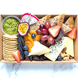 Fully loaded cheese platter thumbnail