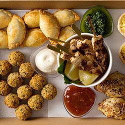Hot finger food by the dozen thumbnail