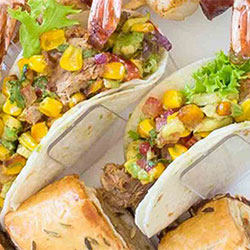 Pulled pork soft taco - mini thumbnail