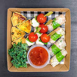 Vegetarian sandwich and finger food package thumbnail