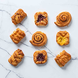 Assorted Danish pastries - mini thumbnail