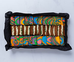 Rainbow finger sandwich collection thumbnail