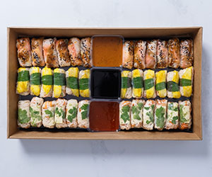 Summer rice paper roll collection thumbnail