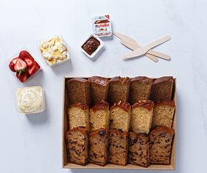 Toasted breakfast breads thumbnail