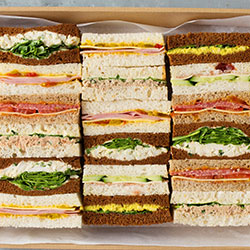 Saturday gourmet finger sandwiches thumbnail