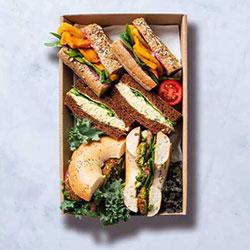 Gourmet veggie  pack sandwich thumbnail