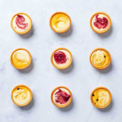 Baby cheese cake tarts - mini thumbnail