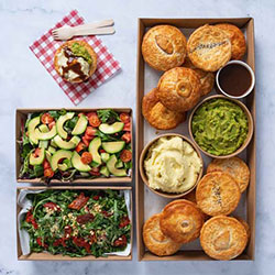 Pies and sides thumbnail