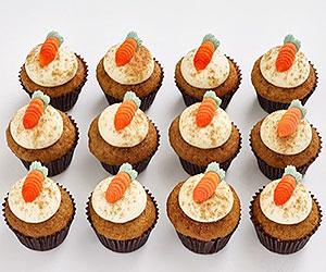 Petite cupcakes - carrot thumbnail