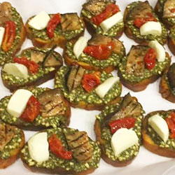 Vegetarian bruschetta thumbnail
