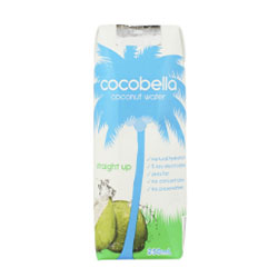 Cocobella straight up coconut water - 250 ml thumbnail