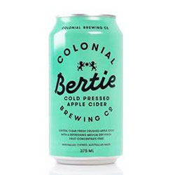 Colonial Brewing Bertie Cider - 375 ml cans thumbnail