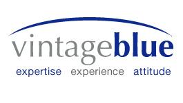 Vintage Blue Melbourne logo