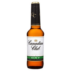 Canadian Club and Dry Bottle - 330ml thumbnail