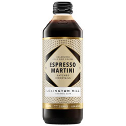 Lexington Hill Espresso Martini Bottle - 330ml thumbnail