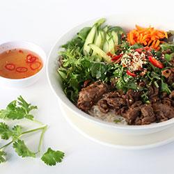 Lemongrass beef vermicelli salad thumbnail