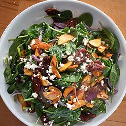 Spring leaf salad thumbnail