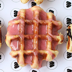 Strawberry supremo waffles thumbnail