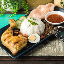 Nasi lemak - lunch box thumbnail