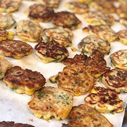 Sweetcorn and green chilli fritter thumbnail