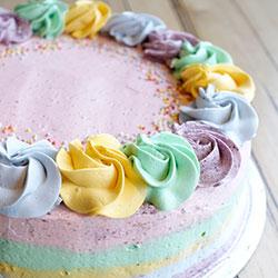 Rainbow cake - 8.5 inch thumbnail