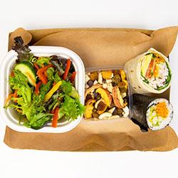Vegetarian sushi deluxe box thumbnail