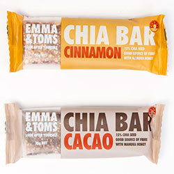 Emma and Tom's chia bars - 35g thumbnail