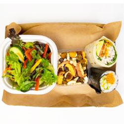 Healthy lunch and snack box thumbnail