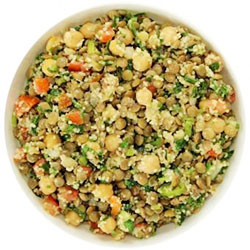 Lebanese lentil salad thumbnail