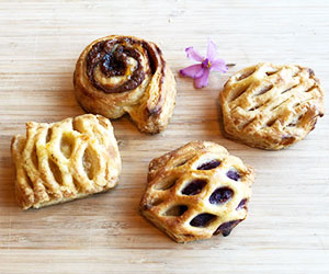 Assorted Danish pastries - large thumbnail