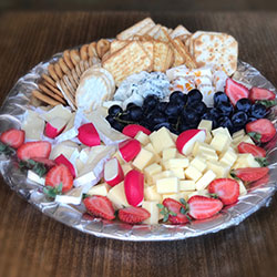 Cocktail cheese and dips platter thumbnail