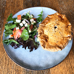 Beef pie and salad thumbnail