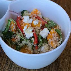Pumpkin and quinoa salad thumbnail