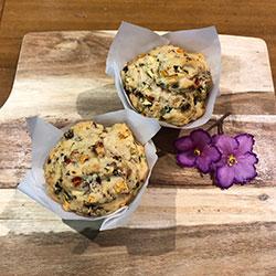Savoury muffins - large thumbnail