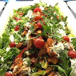 Tandoori chicken salad thumbnail