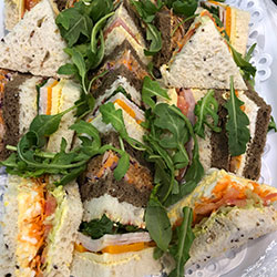 Traditional triangle sandwiches thumbnail