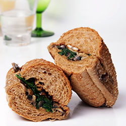 Dietary breakfast roll thumbnail