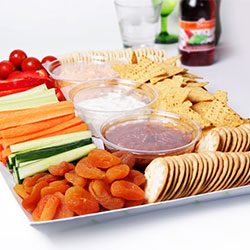 Crudites and dip platter thumbnail