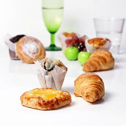 Mini danish, muffin and croissant platter thumbnail