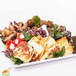 Vegetarian delights platter thumbnail