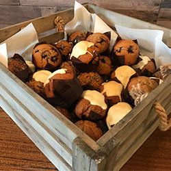 Assorted mini muffins platter thumbnail