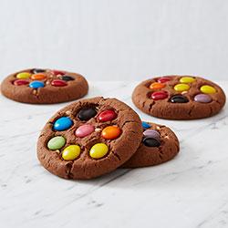 Chocolate dotty treasure cookies thumbnail